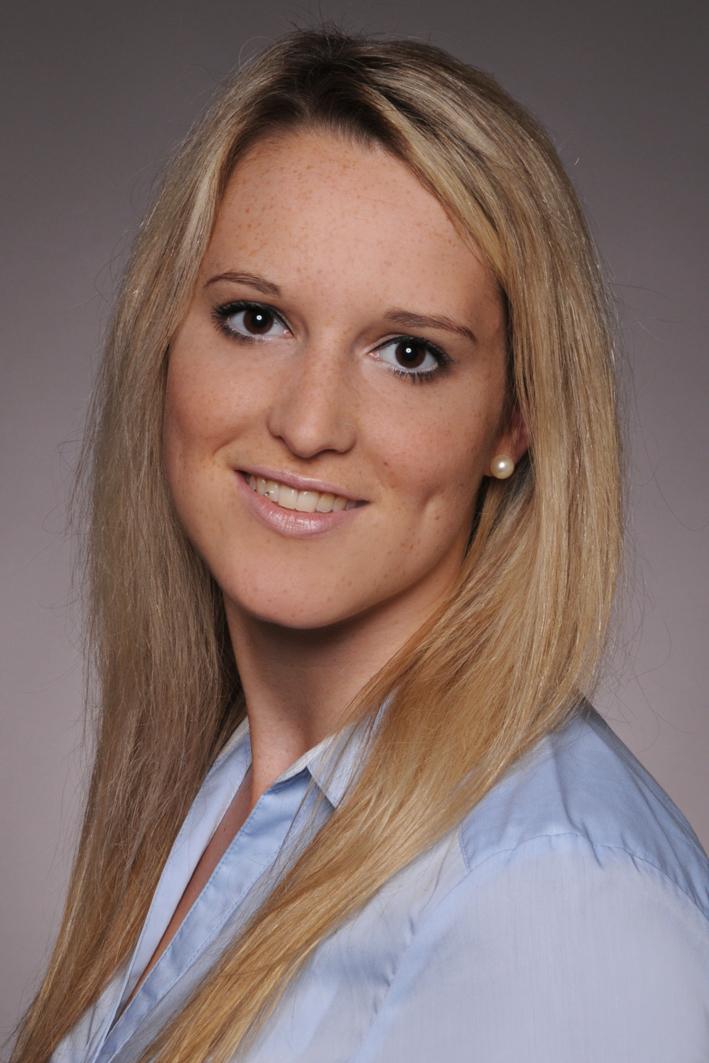 Unsere Sekretariatsangestellte Mia Heinz