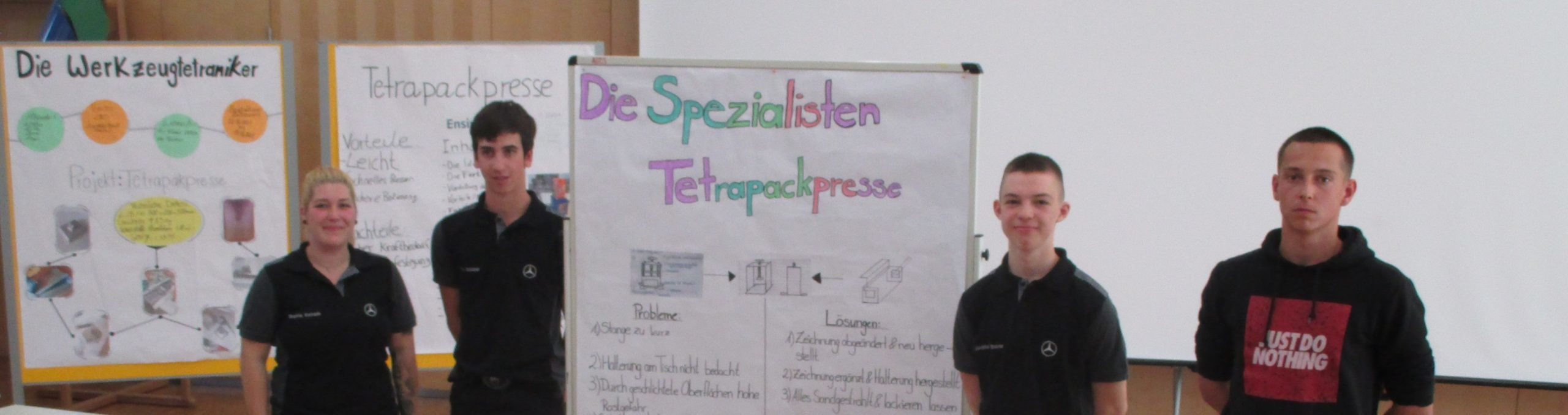 Tetrapakpresse Gruppe 7